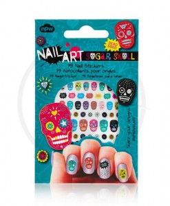 Stickers Ongles Têtes de Mort Mexicaines - Nail Art | Color-Mania