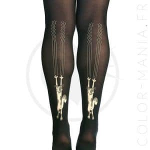 Collants Fantaisie Chat Scratch | Color-Mania