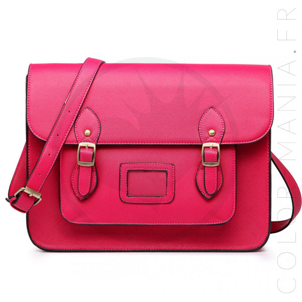 Bolso Satchel Satchel Rosa Cereza | Color-Mania
