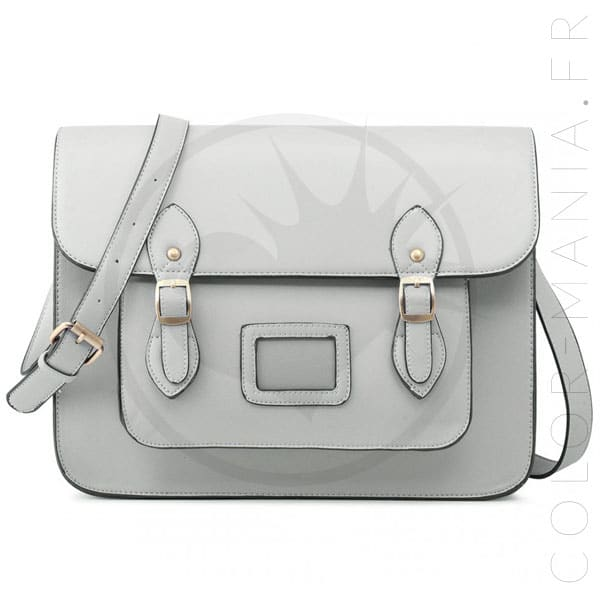 Bolso gris satchel Satchel Bag | Color-Mania