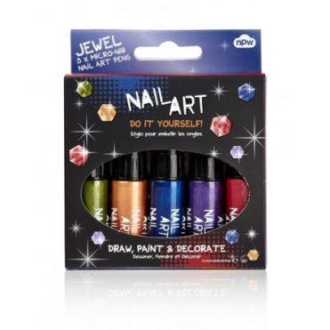 Kit Vernis à Ongles Nail Art Métallisé | Color-Mania