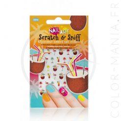 Pegatinas de uñas de coco - Nail Art | Color-Mania