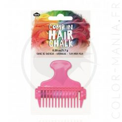 Craie à Cheveux avec Peigne | Color-Mania