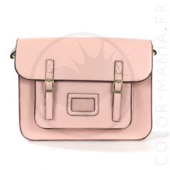 Satchel - Sac Cartable Rose Pastel | Color-Mania