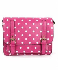 Satchel - Pink Fucsia Pea bolso | Color-Mania