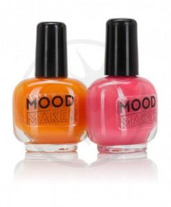 Vernis Magiques Mood Maker Orange et Rose | Color-Mania