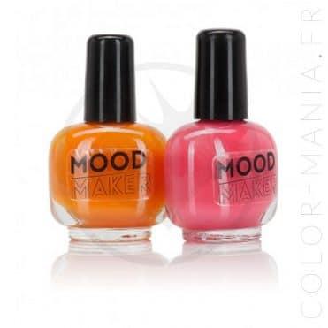 Vernis Magiques Mood Maker Orange et Rose   Color-Mania