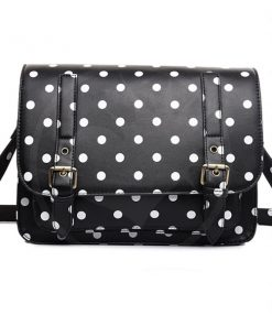 Borsa a manico Black Dot | Color-Mania