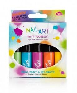 Kit Vernis à Ongles Nail Art Arc-En-Ciel | Color-Mania