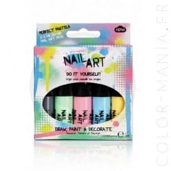 Kit Vernis à Ongles Nail Art Pastel | Color-Mania