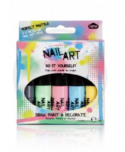 Kit Vernis à Ongles Nail Art Pastel | Color-Mania