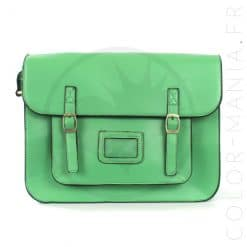 Satchel - Sac Cartable Vert Clair | Color-Mania