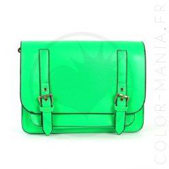 Satchel - Bolso Green Fluo | Color-Mania