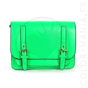 Satchel - Sac à Main Vert Fluo | Color-Mania