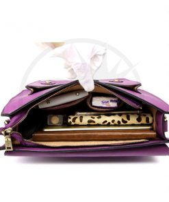 Mochila satchel morado | Color-Mania