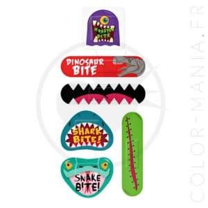 Boîte Métal Pansements Petits Monstres | Color-Mania