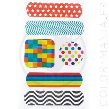 Boîte Métal Pansements Graphiques Art School | Color-Mania