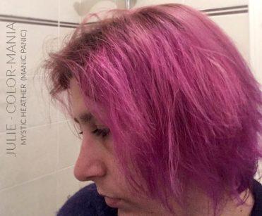 Merci Julie :) Coloration Cheveux Lavande Mystic Heather - Manic Panic   Color-Mania