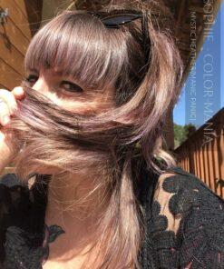 Merci Sophie :) Coloration Cheveux Lavande Mystic Heather - Manic Panic | Color-Mania