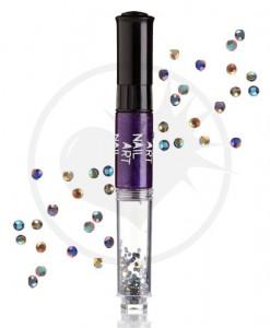 Vernis à Ongles Nail Art 3 en 1 Violet Métallisé | Color-Mania