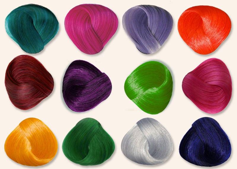 Nuancier coloration cheveux semi-permanente