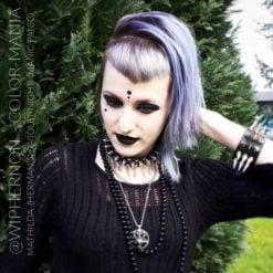 Merci @wiphernon :) Coloration Cheveux Gris Granny Mathilda Grey - Herman's Amazing   Color-Mania