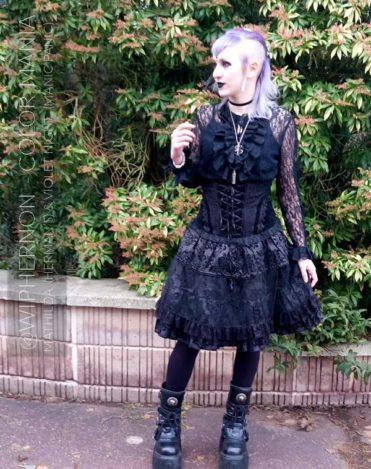 Gracias @wiphernon :) Gray Hair Coloring Granny Mathilda Gray - Herman's Amazing | Color-Mania