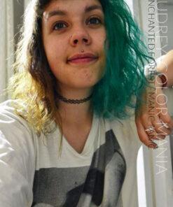 Merci Audrey ! :) - Coloration Cheveux Enchanted Forest - Manic Panic