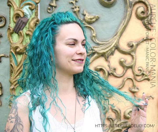 Gracias Aurélie! :) - Coloración Cabello Verde Enchanted Forest - Manic Panic | Color-Mania