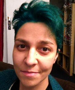 Merci Emily :) Coloration Cheveux Vert Enchanted Forest - Manic Panic | Color-Mania