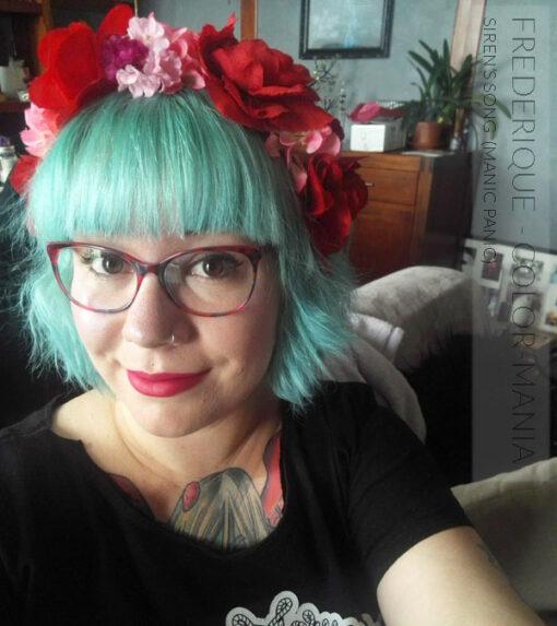 Merci Frédérique :) Coloration Cheveux Vert Siren's Song - Manic Panic | Color-Mania