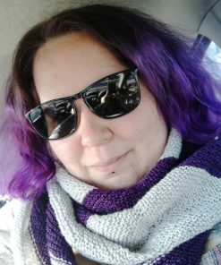 Grazie Maureen :) Purple Deep Violet Hair Coloring - Manic Panic | Color-Mania