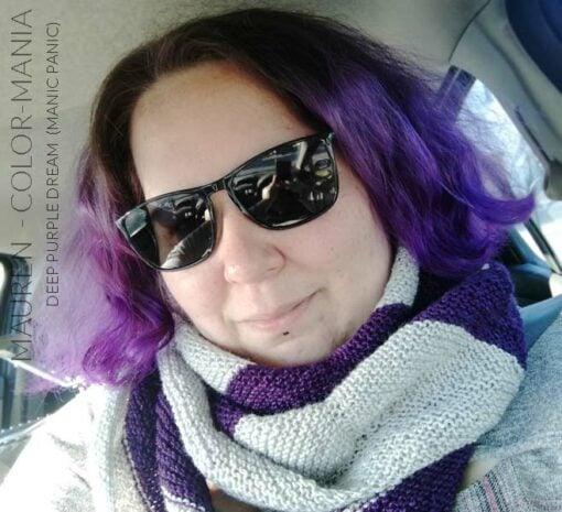Gracias Maureen :) Purple Deep Violet Hair Coloring - Manic Panic | Color-Mania