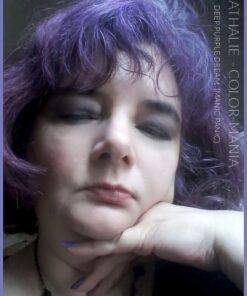 Grazie Nathalie :) Purple Deep Purple Dream Hair Coloring - Manic Panic | Color-Mania
