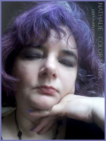 Merci Nathalie :) Coloration Cheveux Violet Deep Purple Dream - Manic Panic | Color-Mania