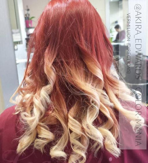 Merci @akira_edwards :) Coloration Cheveux Rouge Vermillon - Dilué - Directions | Color-Mania
