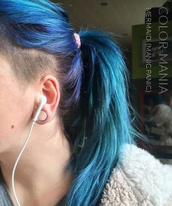 Merci @jessyrelaxationasmr :) Coloration Cheveux Bleu Sirène Mermaid - Manic Panic   Color-Mania
