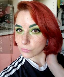 Merci @miss_swisswolfqueen :) Coloration Cheveux Rouge