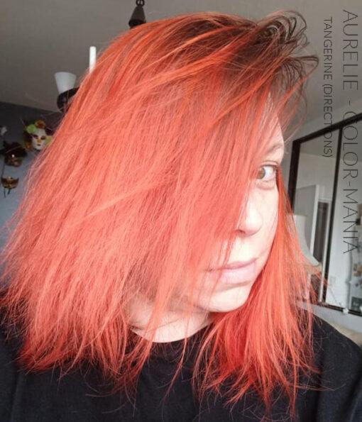 Merci Aurélie :) Coloration Cheveux Orange Tangerine - Directions | Color-Mania