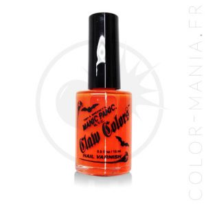 Vernis à Ongles Orange Fluo Lave Electrique - Manic Panic | Color-Mania