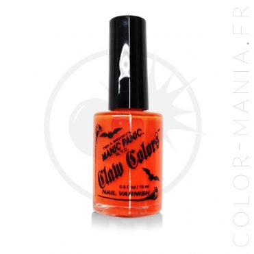 Vernis à Ongles Orange Fluo Lave Electrique - Manic Panic   Color-Mania