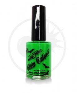 Vernis à Ongles Vert Fluo Electric Lizard - Manic Panic | Color-Mania