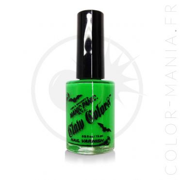 Vernis à Ongles Vert Fluo Electric Lizard - Manic Panic | Color-Mania