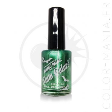 Vernis à Ongles Vert Glacé Green Envy – Manic Panic | Color-Mania
