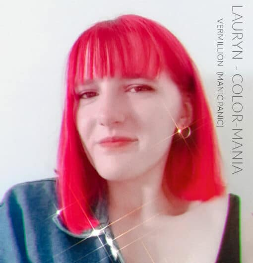 Merci Lauryn :) Coloration Cheveux Rouge Vermillon - Directions | Color-Mania