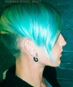 Coloration Cheveux Bleu Sirène Mermaid - Manic Panic   Color-Mania