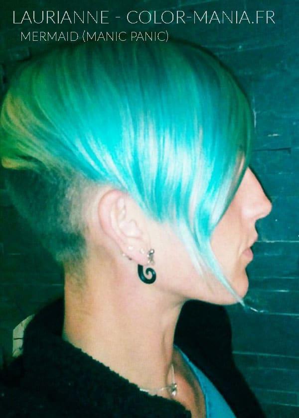 Hair Color Blue Mermaid Mermaid - Manic Panic | Color-Mania