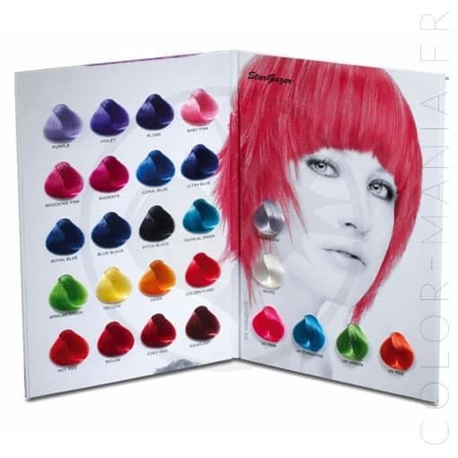 Stargazer Colorations Color Chart | Color-Mania