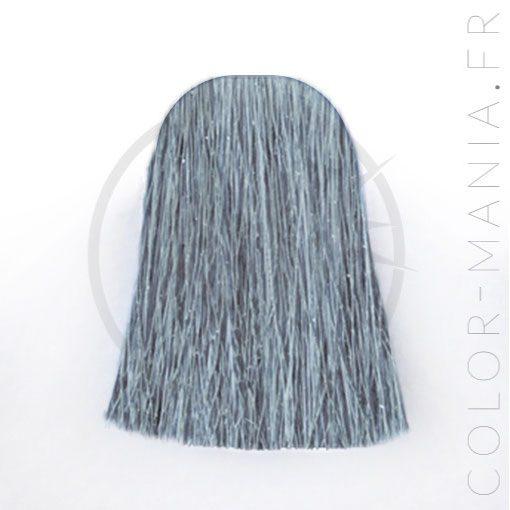 coloration cheveux gris bleut blue steel manic panic color mania. Black Bedroom Furniture Sets. Home Design Ideas