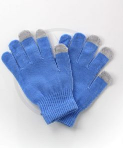 Blue Touch Gloves | Color-Mania
